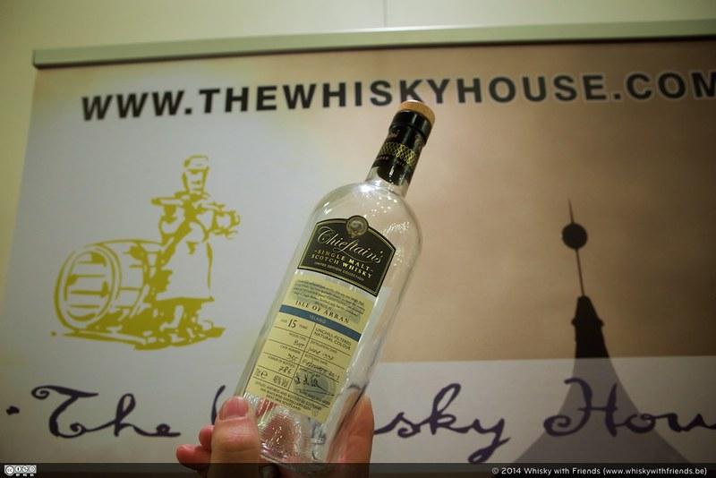 Een heel lekkere Chieftains' botteling van Arran bij The Whisky House