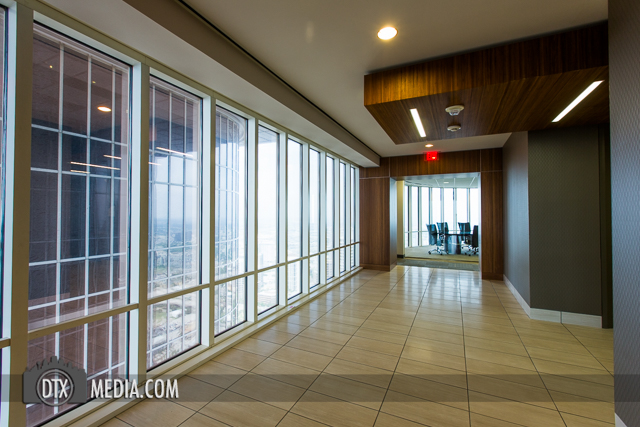 Hines Chase Tower Realty Hallway