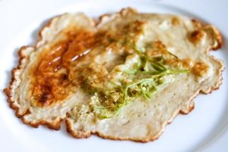 Elderflower pancakes