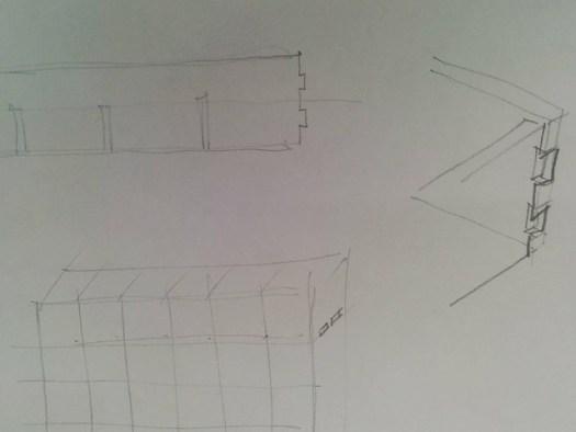 Erster Entwurf fuer den Rahmen