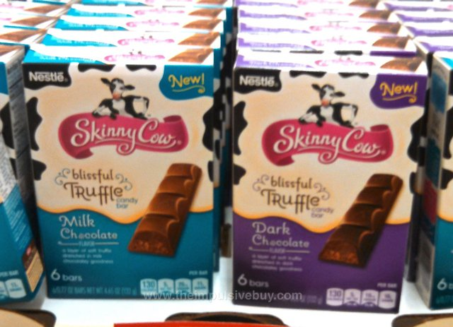 Nestle Skinny Cow Blissful Truffle Candy Bar (Milk and Dark Chocolate)