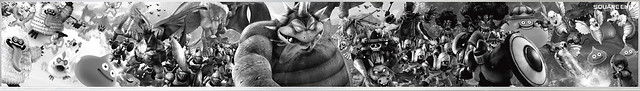 ドラゴンクエストヒーローズII 超巨大黒板アート かいしんの一撃キャンペーン