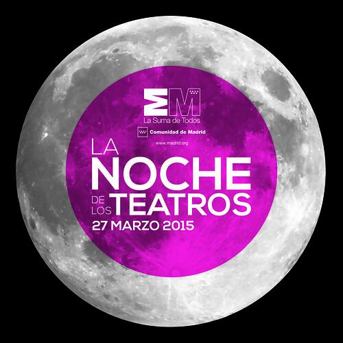 Logo La Noche de los Teatros 2015, Madrid