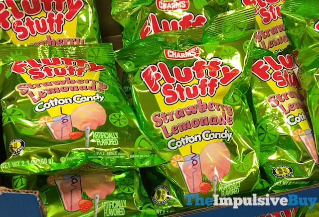 Charms Fluffy Stuff Strawberry Lemonade Cotton Candy