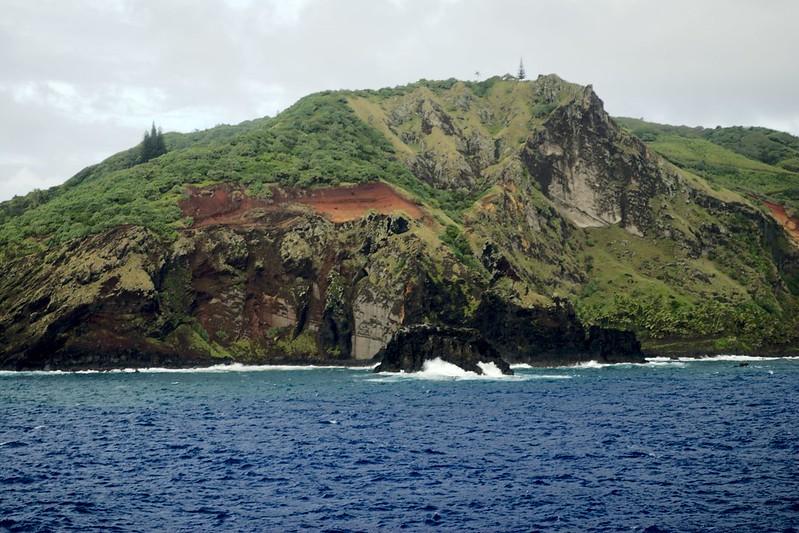 Approaching Pitcairn Island - Peter Farr