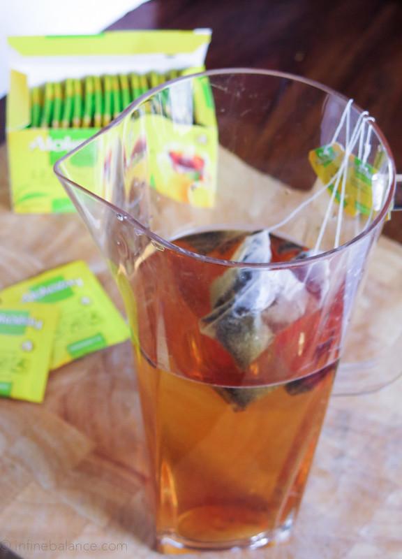 Summer Fruit Tea | www.infinebalance.com