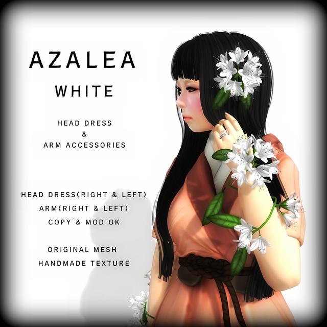 NAMINOKE AZALEA WHITE