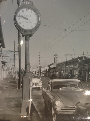 California Avenue, Seattle, 1953