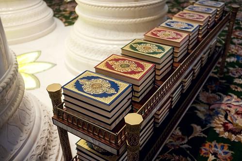 Sheikh Zayed Mosque - Interior I.