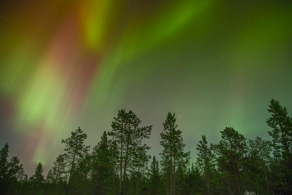 Segunda imagen gratis de una Aurora Austral