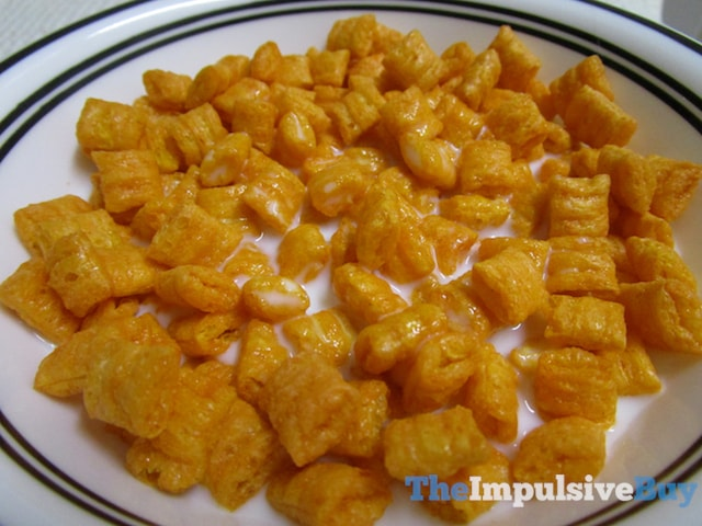 Limited Edition Cap'n Crunch's Orange Creampop Crunch Cereal 3