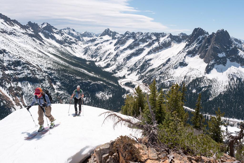 Ski touring Hinkman