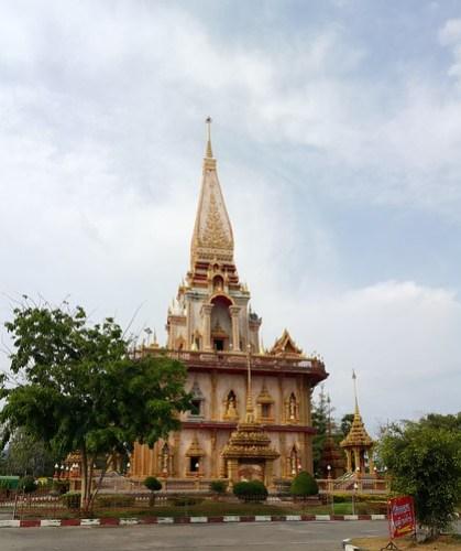 พระมหาธาตุเจดีย์พระจอมไทยบารมีประกาศ วัดไชยธาราราม