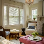 Living Room With Chunky Braided Wool Rug Interior Designer