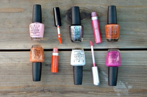 Nail Polish and Lip Gloss