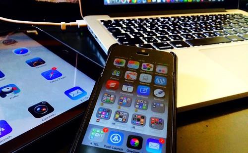iPhoneとiPadとMac