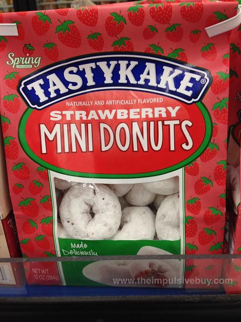 Tastykake Spring Exclusive Strawberry Mini Donuts