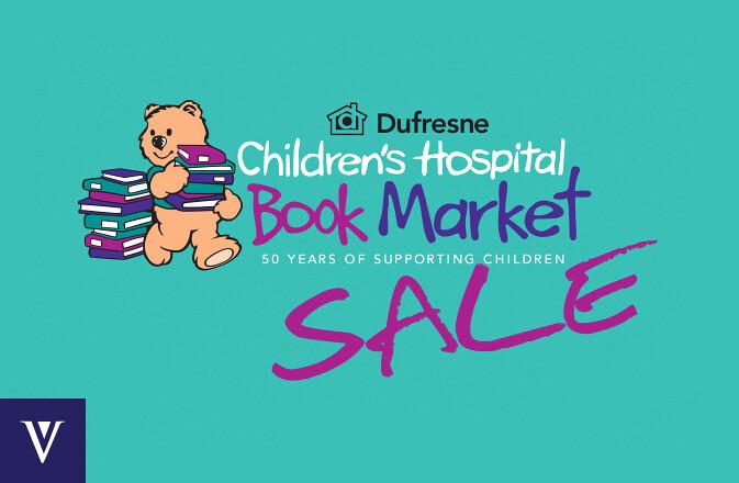 Children's Hospital Book Market at St Vital Shopping Centre