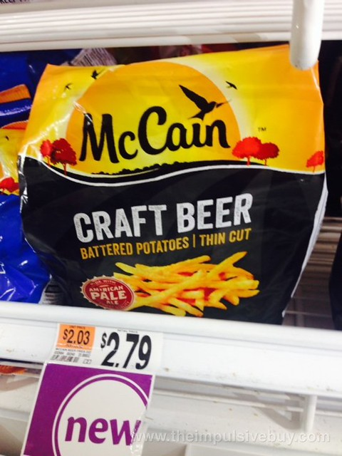 McCain Craft Beer Battered Potatoes