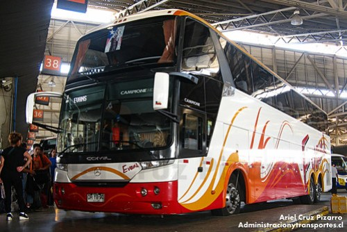 Buses Evans - Santiago - Comil Campione 4.05HD / Mercedes Benz (DRYB90)