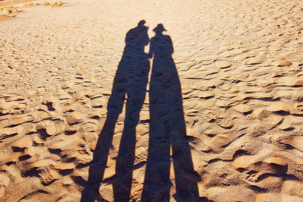 """Love Shadow"" Sossusvlei National Park - Travelationship Review June 2016."