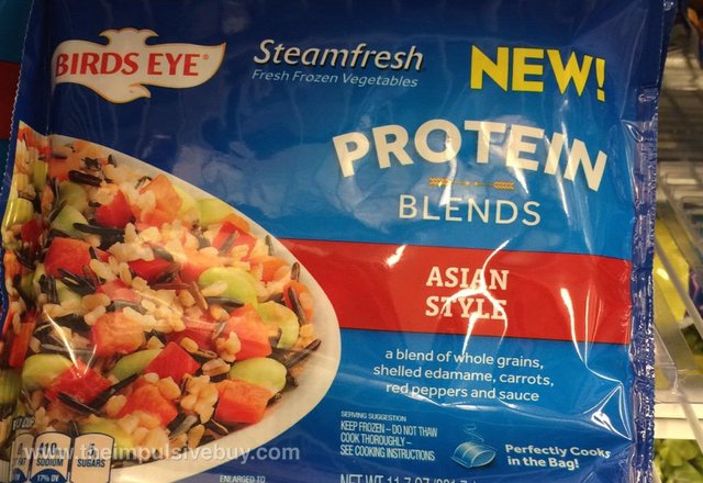 Birds Eye Steamfresh Asian Style Protein Blends