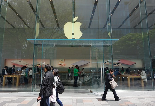表参道 Apple