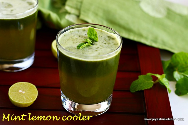 mint-lemon cooler
