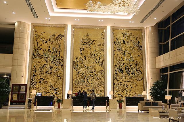 中國,河南,洛陽,洛陽鉬都利豪酒店 @VIVIYU小世界