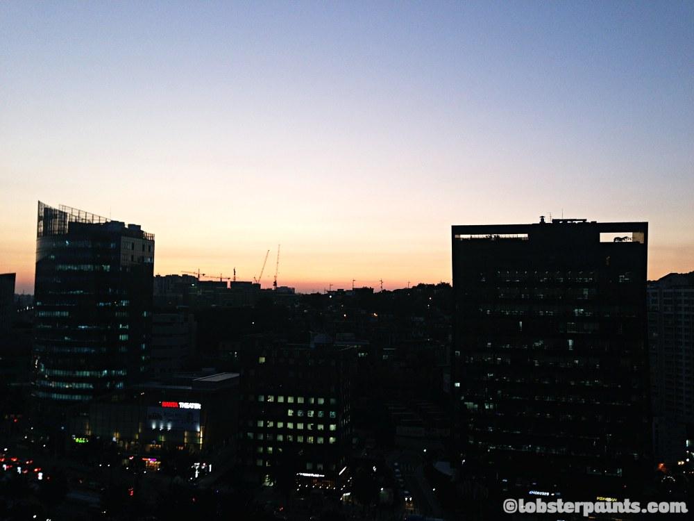 Sunset over Chungjeongno | Seoul, South Korea