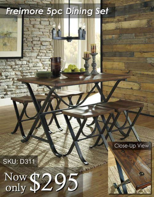 D311 Freimore Dining Set (wDetail)