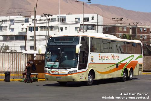TACC Expreso Norte - Iquique - Busscar Jum Buss 360 / Mercedes Benz (BYFG23)