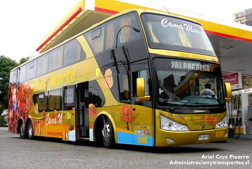 Bus Norte - Puerto Montt - Modasa Zeus / Volvo (FFVS12)