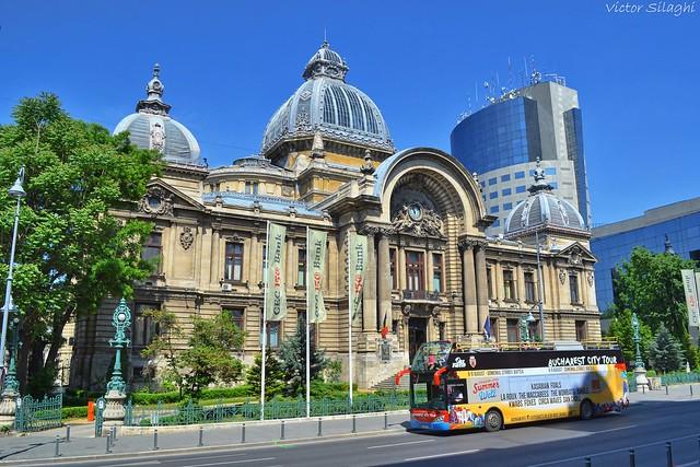 Bucharest City Tour - Palatul C.E.C