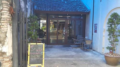 ด้านหน้าของร้าน Cafe'in