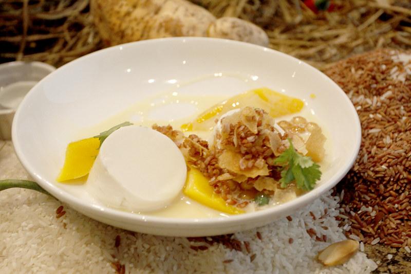 Chef Rob Pengson's Mango Tapioca Surprise