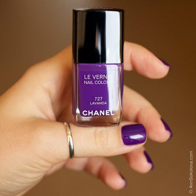 11 Chanel #727 Lavanda swatches