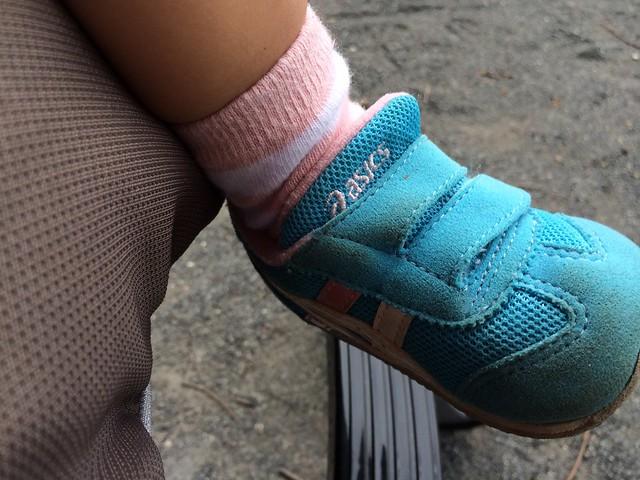 アシックスの靴