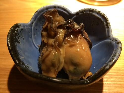 牡蠣のオイル漬け@Sake Fun ぞっこん。