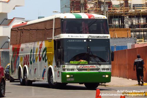 Pullman Carmelita - Iquique - Busscar Jum Buss 400T / Mercedes Benz (SF1810)