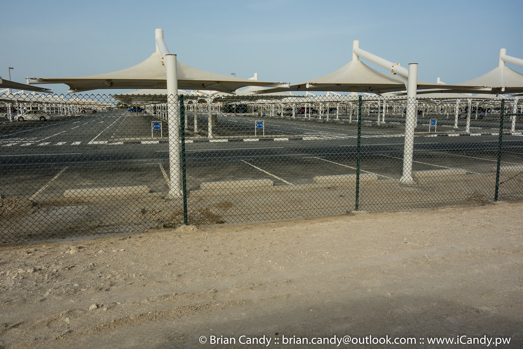 Empty HIA Long Stay Car Park
