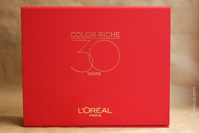 01 L'Oreal Paris Color Riche Lipstick 30 years 30 new shades swatches