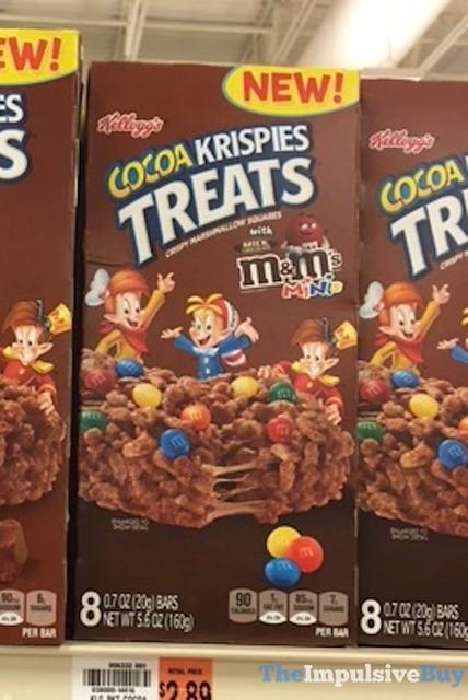 Kellogg's Cocoa Krispies Treats with Milk Chocolate M&M's