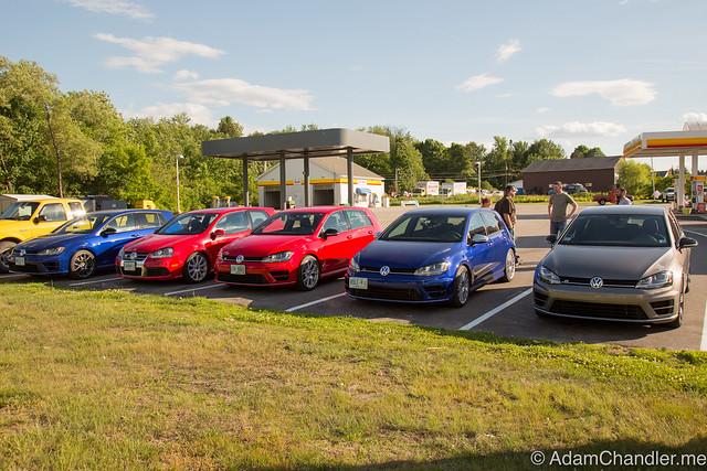 Drag Racing - Golf R New England Dragway, June 2016