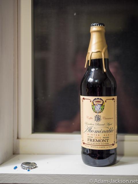 Fremont Abominable - Bourbon Barrel Coffee Cinnamon