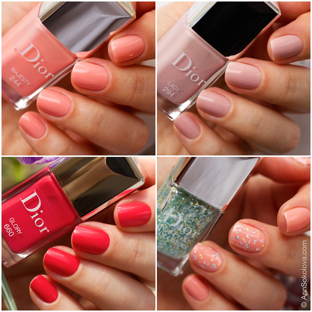 02 Dior Kingdom of Colors Collection for Spring 2015 #244 Majesty, #294 Lady, #660 Glory, Dior Top Coat Eclosion