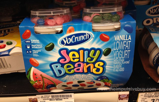 YoCrunch Jelly Beans Vanilla Yogurt