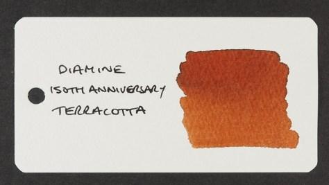 Diamine 150th Anniversary Terracotta - Word Card