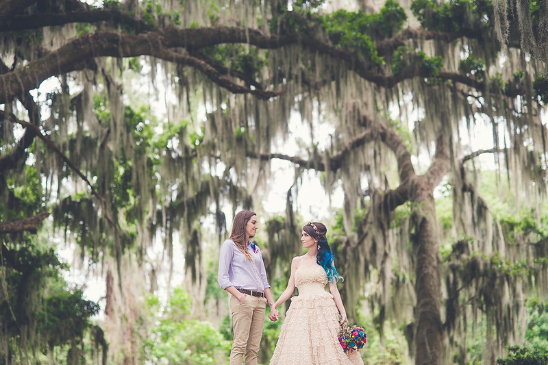Boho wedding from @offbeatbride