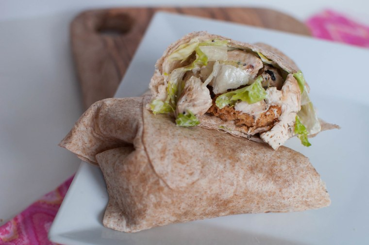 Chicken Caesar Wraps 5